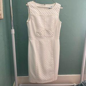 White Antonio Melani Structured Dress